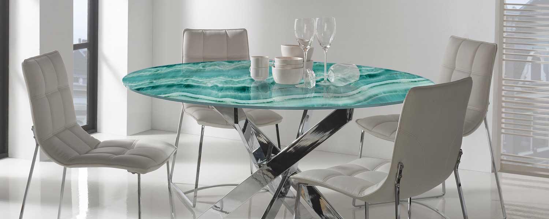 mesa impresion digital cristal - piedra impresion digital -impresion digital vidrio