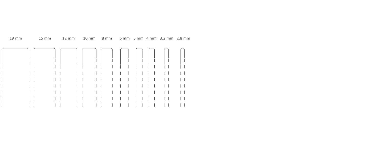 Espesores permitidos en serigrafia a pantalla Vinalsa