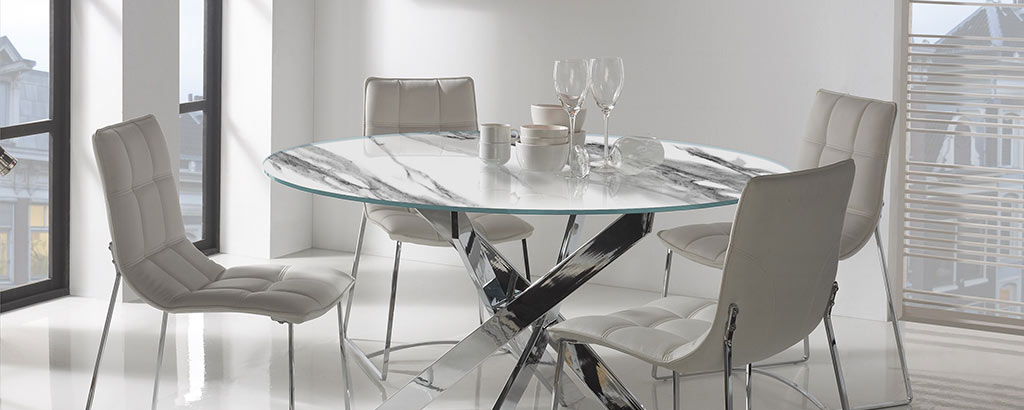 Cristal decorado para mesas Vinalsa