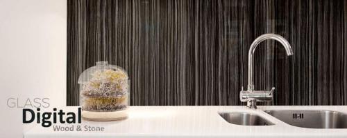 cocina vidrio madera - impresion digital vidrio