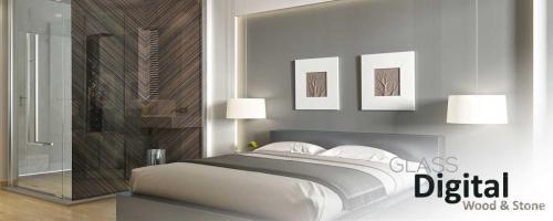 dormitorio impresion digital - impresion digital translucido